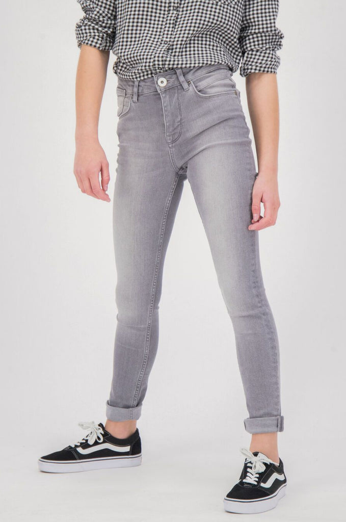GARCIA - Girls Jeans Rianna 570 Superslim - Medium Used Grey