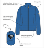 RUKKA - Thermojacke Pac Jac night blue