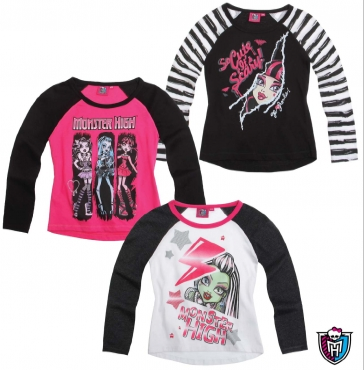 Langarmshirt Monster High