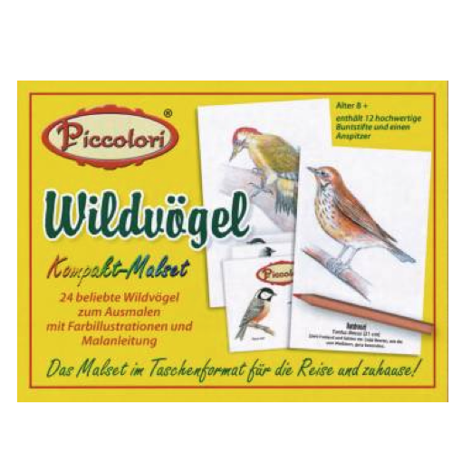 Piccolori - Wildvögel - Heritage Playing Card Company