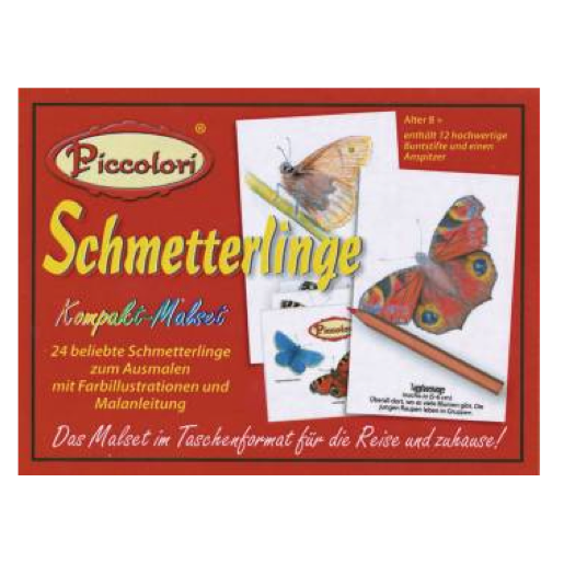 Piccolori - Schmetterlinge - Heritage Playing Card Company