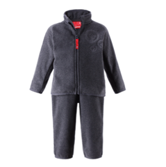 REIMA Fleece-Set Etamin melange grey