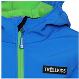 TROLLKIDS Kids Soft Shell Jacke Oslofjord medium blue