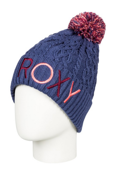 ROXY - Bommelmütze Baylee crown blue