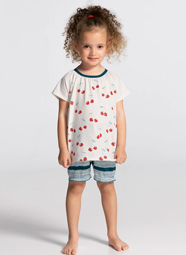 CALIDA - Pyjama Toddlers Cherry
