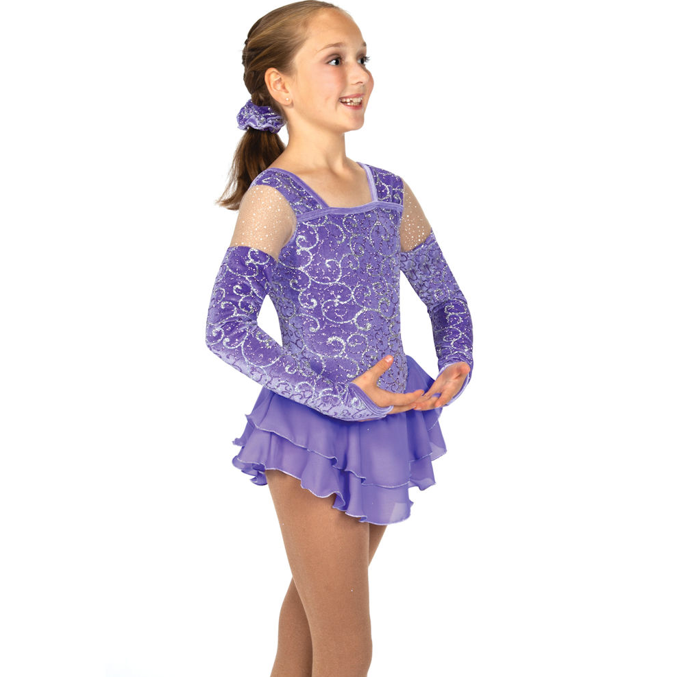 JERRY'S - Eiskunstlauf Kleid Powder Purple