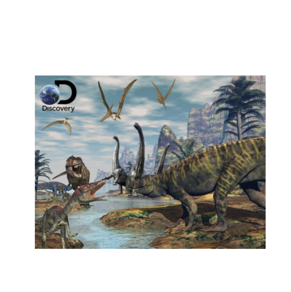 Discovery - 3D Puzzle Dinosaur Marsh 500 Teile