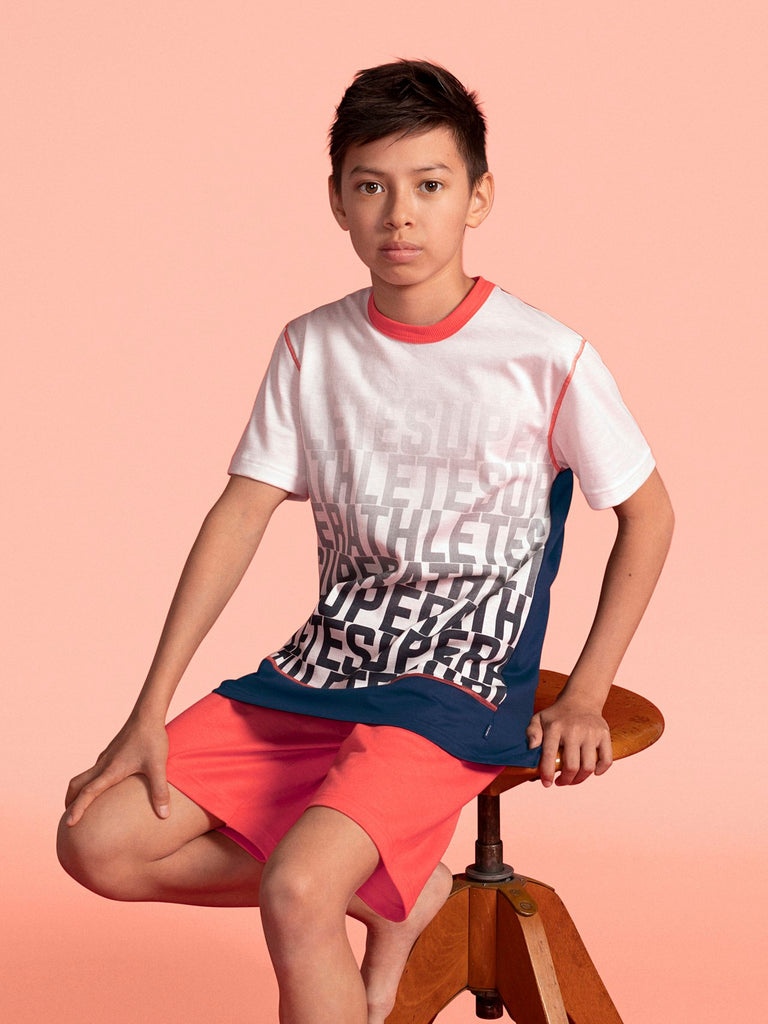 CALIDA - Pyjama Boys Kurz Athlete 54877