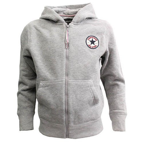 CONVERSE - Sweat Kapuzenacke grey