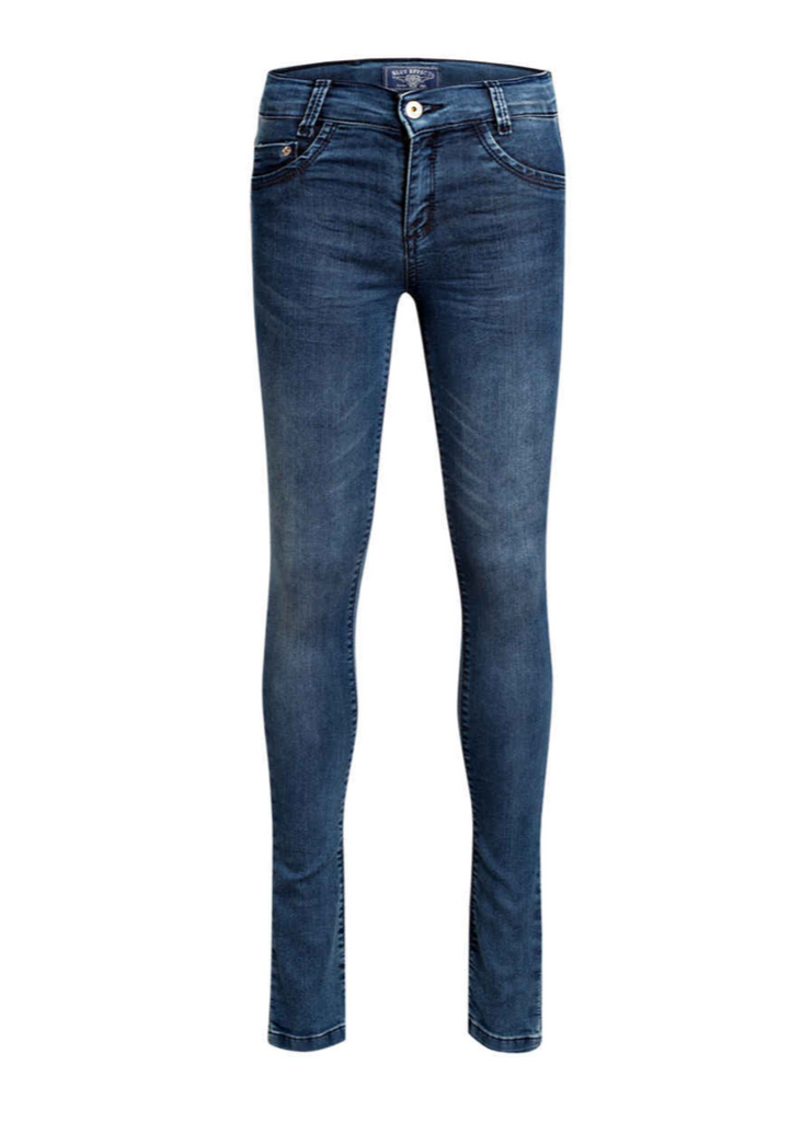 BLUE EFFECT - Girls Jeans Skinny Ultra Stretch Blue Denim