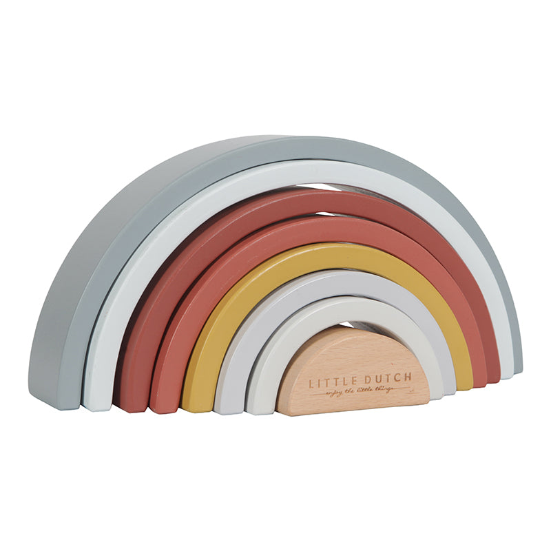 LITTLE DUTCH - Stapel Regenbogen Pure & Nature LD4701