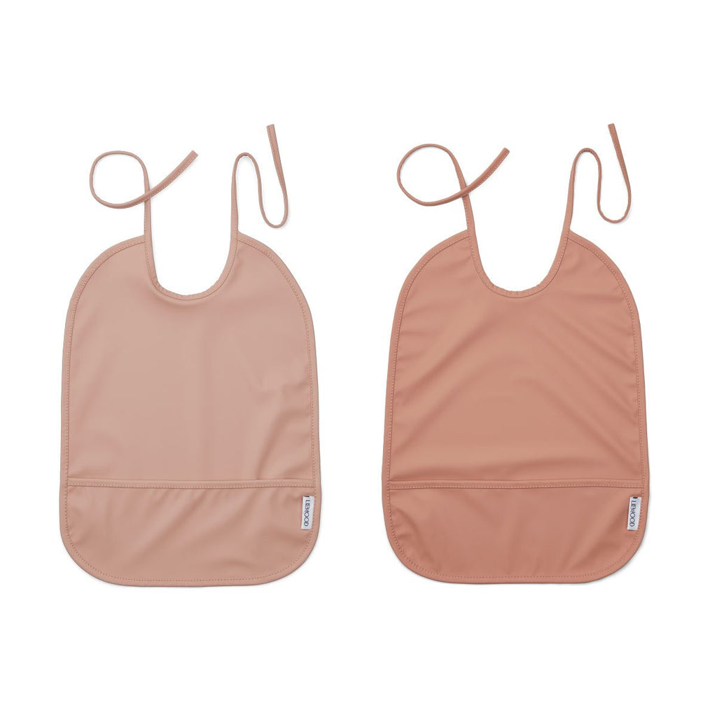 LIEWOOD - Set Lätzchen Bib Lai Rose Mix