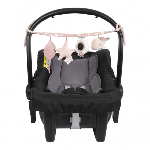 LITTLE DUTCH - Kinderwagenkette Meerestiere Ocean Pink