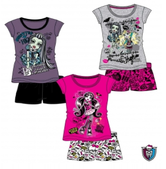 Shorty Pyjama Monster High