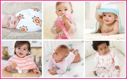 aden+anais - swaddles 3er set silky soft bambus milky way