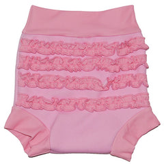 SPLASH ABOUT - DSC Happy Nappy Schwimmwindel Pink Frilly Bum