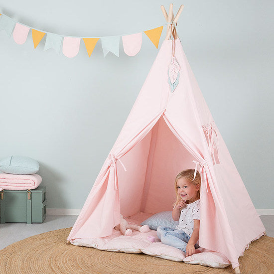 LITTLE DUTCH - Haus Tipi Zelt Pink