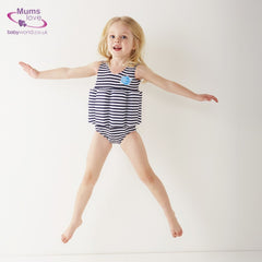 SPLASH ABOUT - FloatSuit UV Navy Stripe