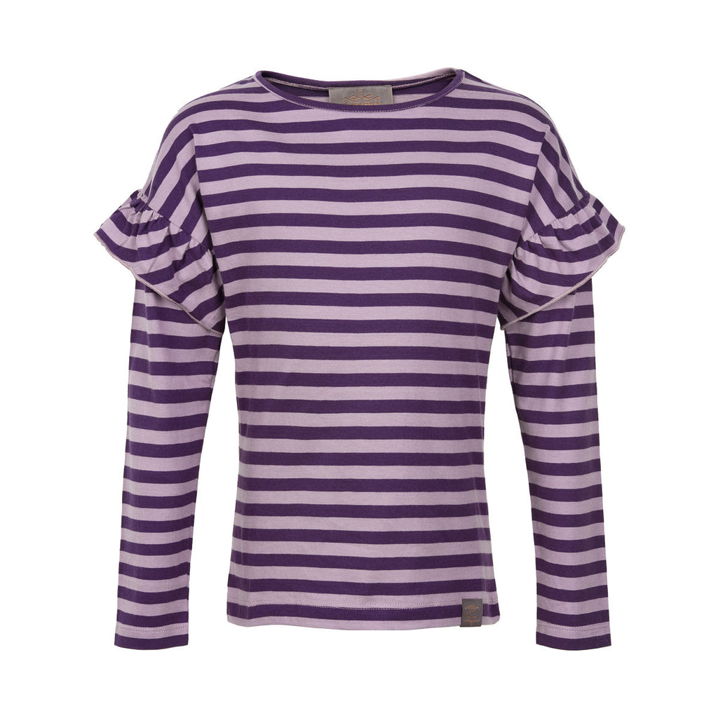 CREAMIE - Shirt Stripe LS Nightshade