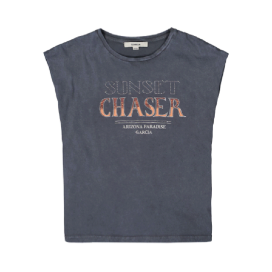 GARCIA - Girls Shirt Sunset Chaser