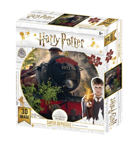 Harry Potter - 3D Puzzle Hogwarts Express 300 Teile