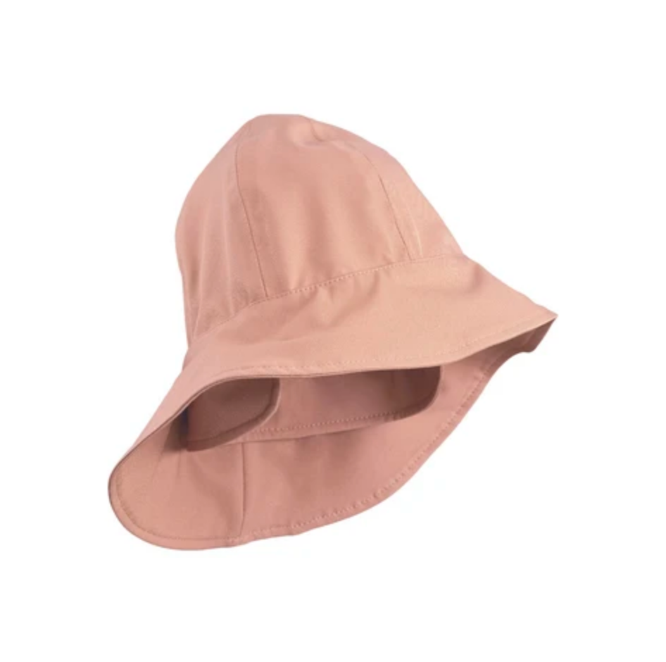 LIEWOOD - Regenhut Remi Southwest Hat Dark rose