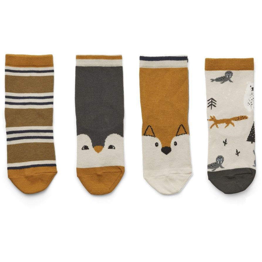 LIEWOOD - Socken Silas Arctic Mix 4er Set