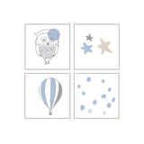 aden+anais - dsc night sky classic swaddles 4er Set
