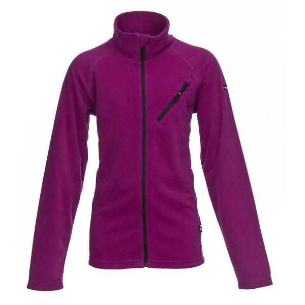 RUKKA - Fleece Jacke Olisto purple wine