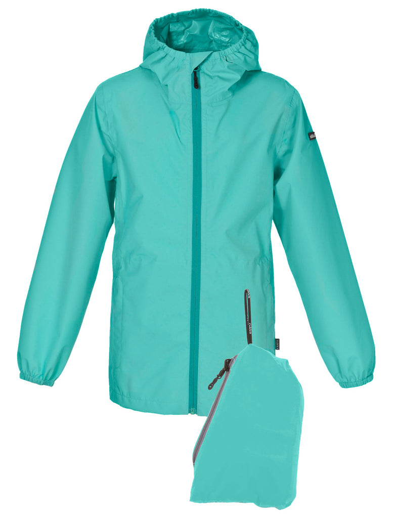 RUKKA - Regenjacke Travellight pool blue