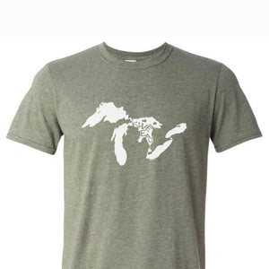 Great Lakes Logo T-Shirt - Huron
