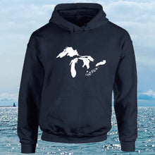 Load image into Gallery viewer, Great Lakes Logo Hoodie - Erie