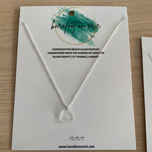 Load image into Gallery viewer, Barefoot on Erie - Beach Glass Necklace