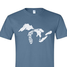 Load image into Gallery viewer, Great Lakes Logo T-Shirt - Michigan