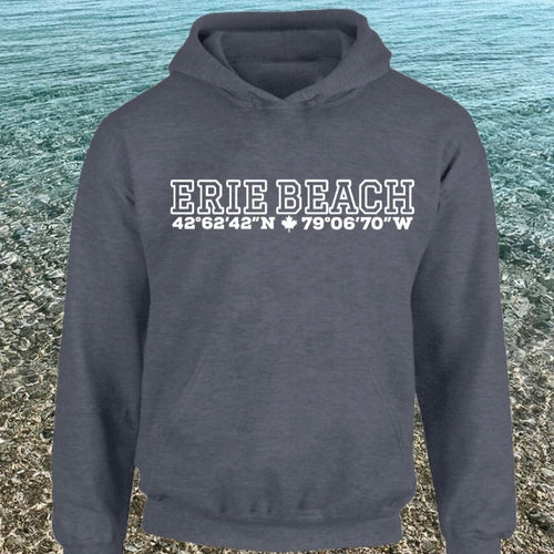 Erie Beach - North of 42° Hoodie