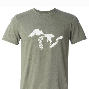 Great Lakes Logo T-Shirt - Michigan