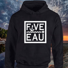 Load image into Gallery viewer, Five-Eau Block Hoodie