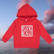 Load image into Gallery viewer, Five-Eau Toddler Hoodie