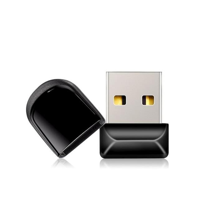 mini USB flash drive side view