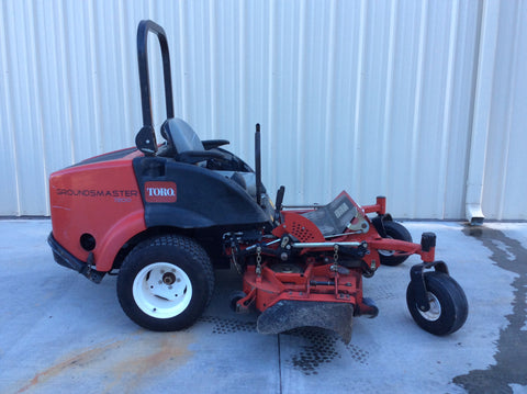 "Toro Grounds Master 7200  60""  Rotary [1587 hrs]"