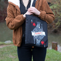 Well Read Hamlet Book Tote Bag