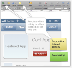 App Prototype Collaborate | App Mockup Tools