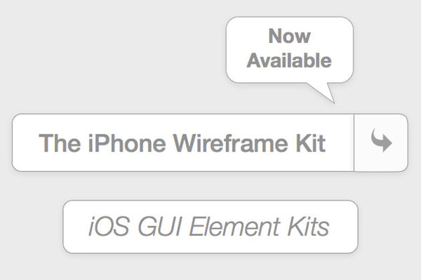 iOS GUI Mockup and Wireframing Tools.