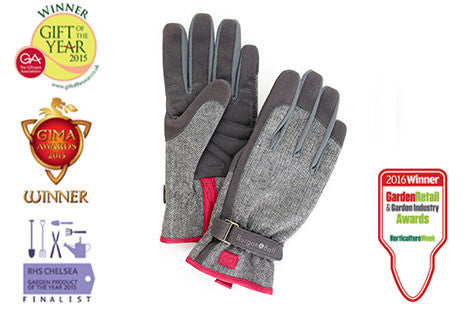 Hagehansker - Love-the-glove - Grey tweed