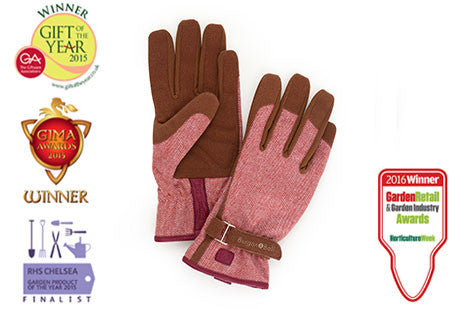 Hagehansker - Love-the-glove - Red tweed