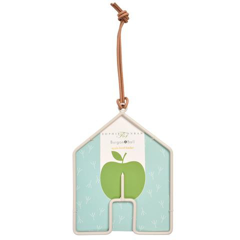SC Epleholder til fugl - hus (Apple bird feeder - house)