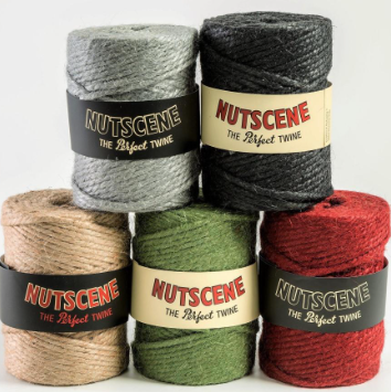 90m Chunky Twine Spools 3 ply (3-trådet) (6-8mm)