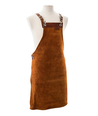 Forkle - Heritage - Leather/suede full length apron