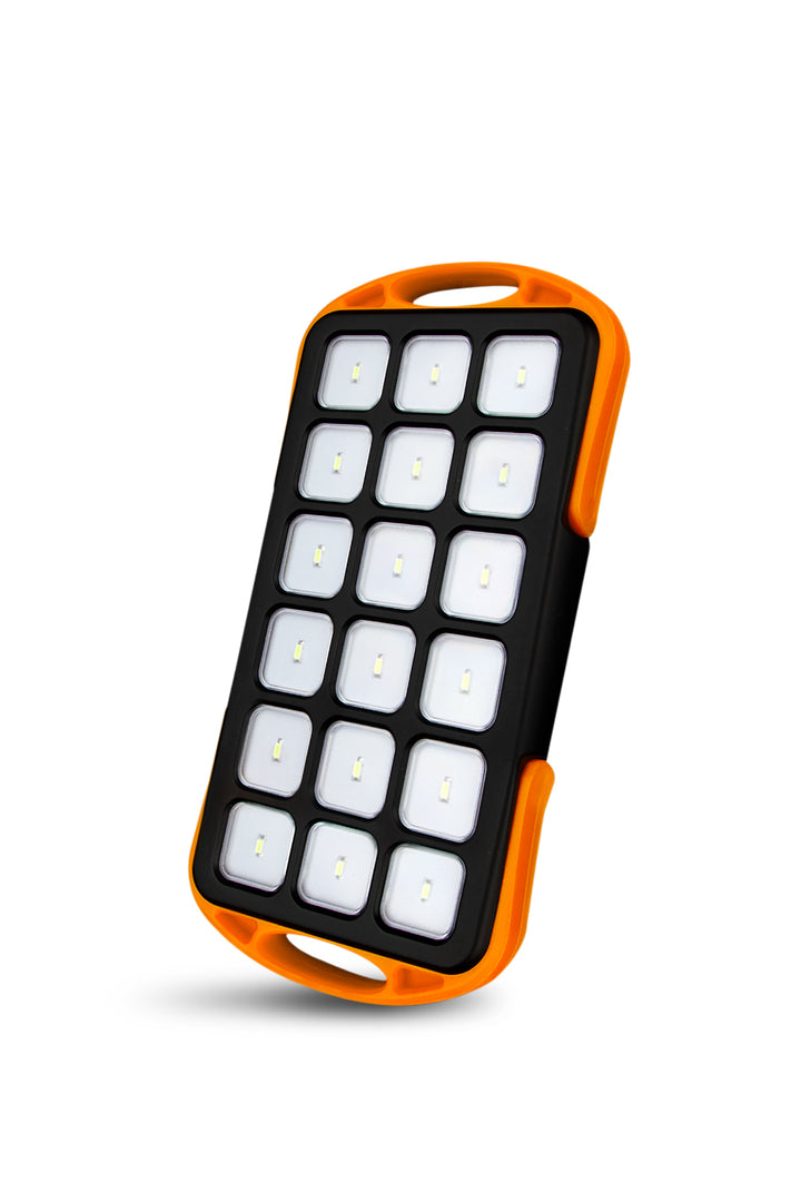 6,000mAh Power Bank with High Powered LED Light Panel
