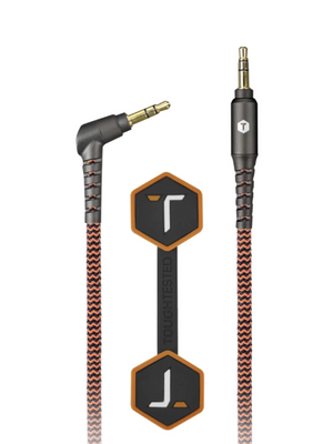 Braided 6 Ft. USB Cable with 3.5mm Aux Connector